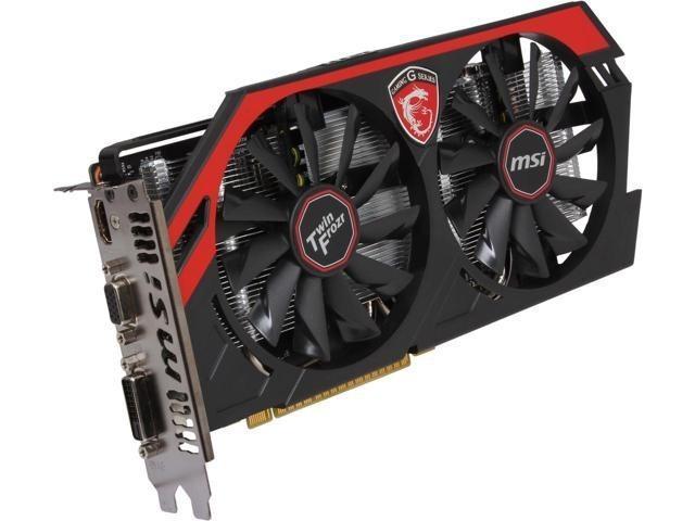 nVidia GeForce GTX750Ti 2GB MSI Twin Frozr IV