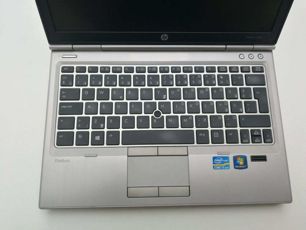 Notebook HP EliteBook 2570p - stav