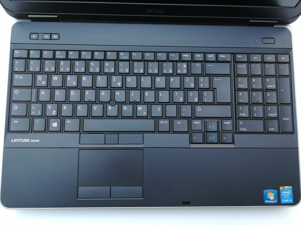 Notebook Dell Latitude E6540 č.5