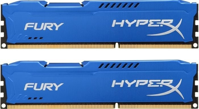 DDR3 - 8GB (2x4GB KIT) 1600MHz HyperX Fury č.1