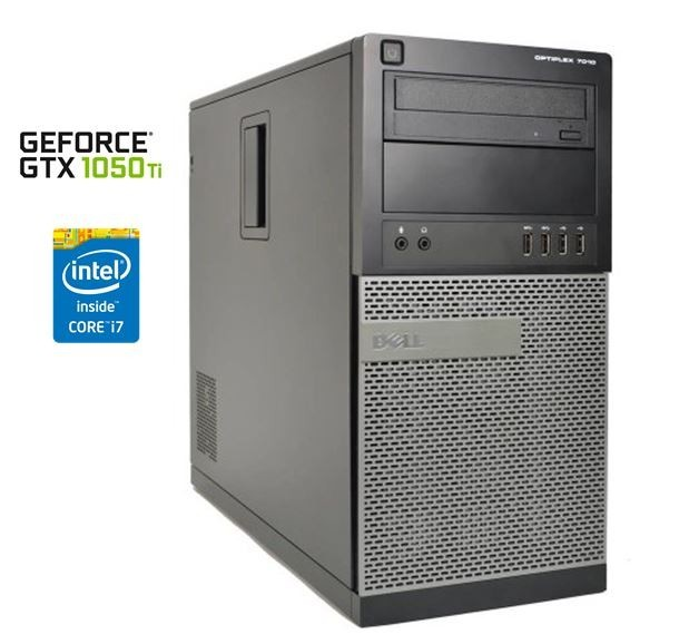 Herní PC Dell Optiplex 7010 + GTX1050Ti 4GB
