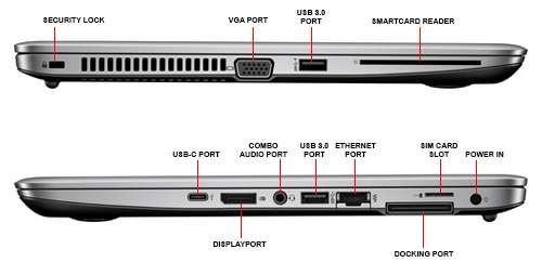 Notebook HP EliteBook 840 G3 č.3
