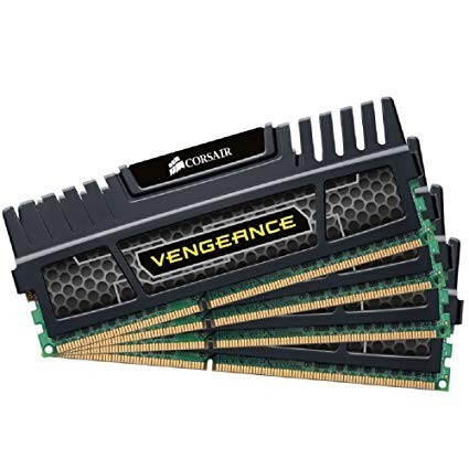 DDR 3 16GB (4x4GB KIT) 1600MHz Corsair Vengeance